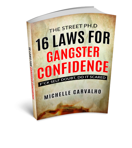 3D Mock-Up 16 Laws for Gangster Confidence