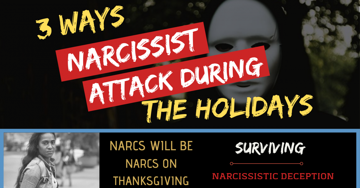narcissist holiday drama