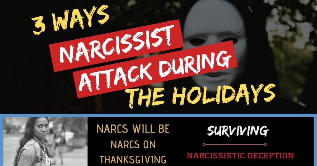 narcissist holiday drama