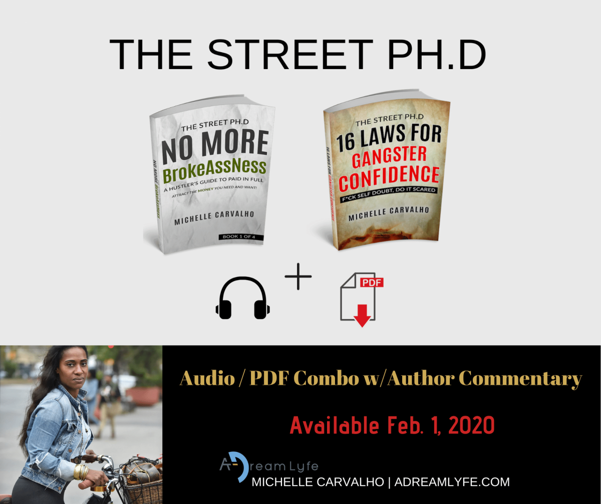 THE STREET PH.D AUDIOBOOK COMBO
