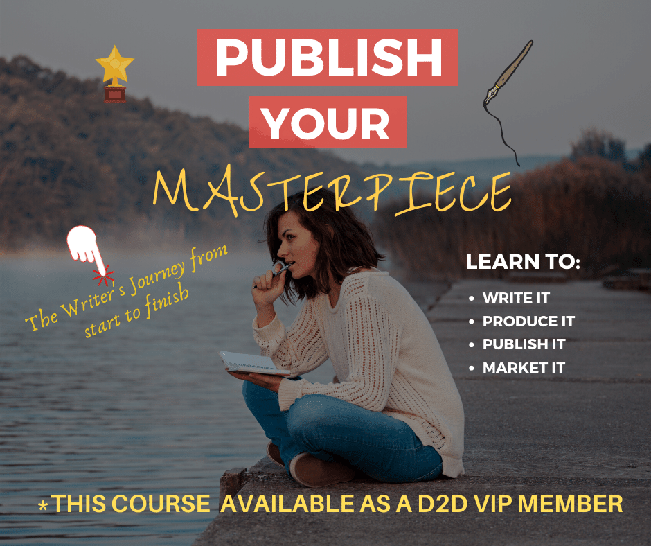 Publish Your Masterpiece