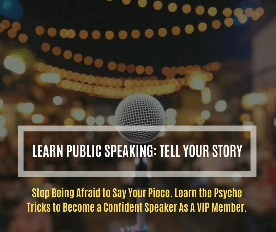 Public Speaking Bonus Course