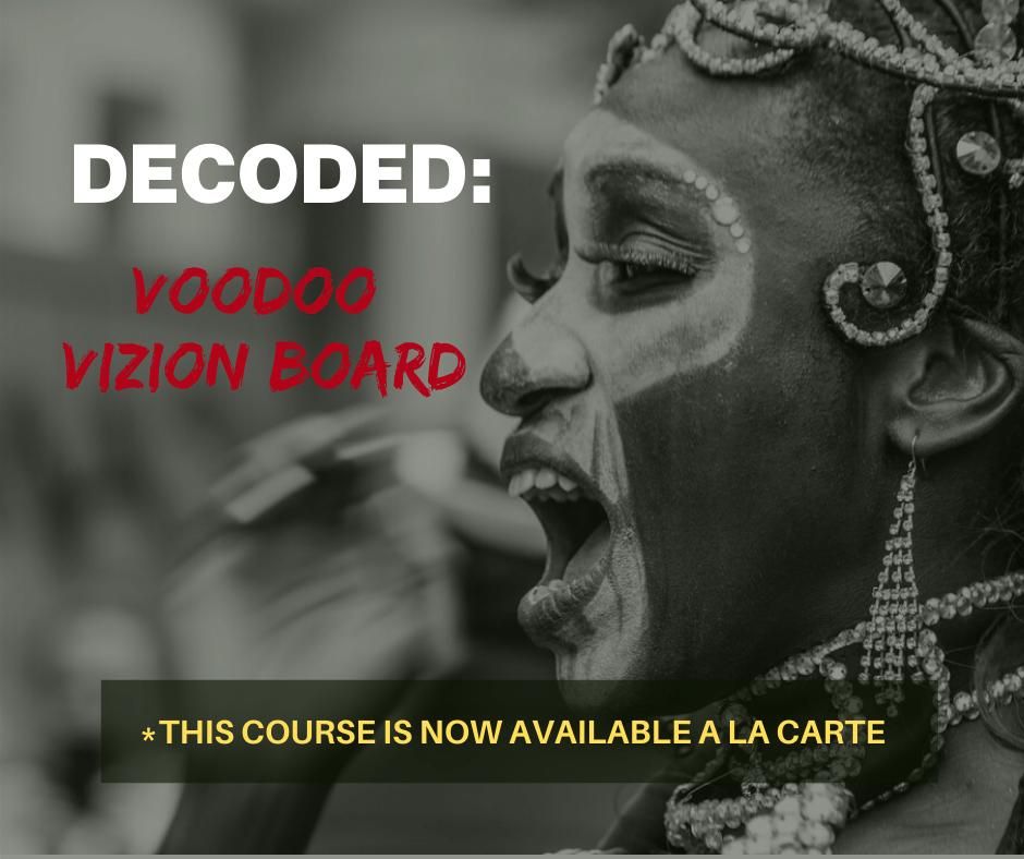 Voodoo Vizion Board - a la carte